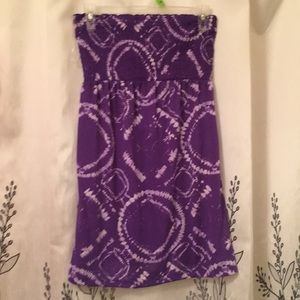No Boundaries purple tube top Size M